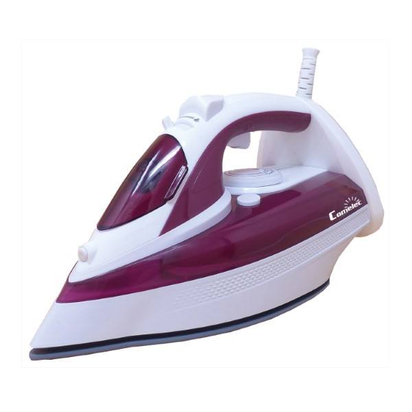 Steam Iron COMELEC PV1406 3000W White Burgundy|Electric Irons|   - title=