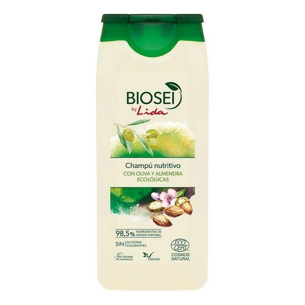 Nourishing Shampoo Biosei Olive & Almond Lida (500 Ml)