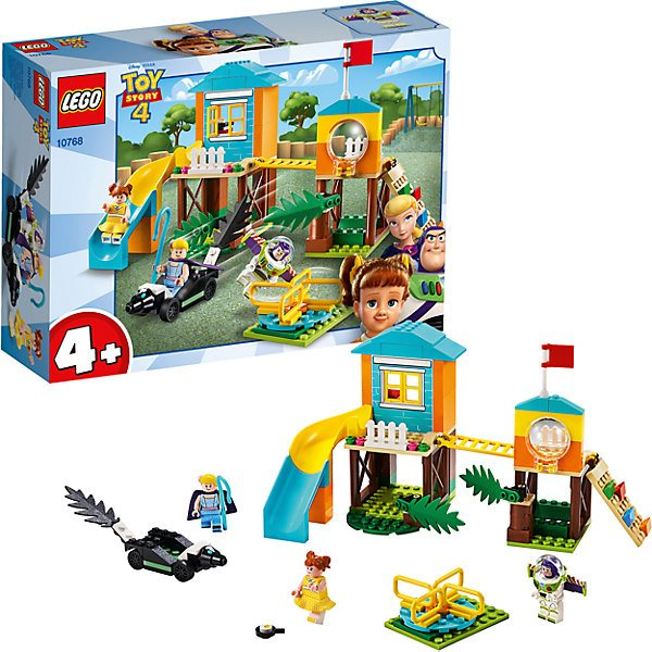 Lego Toy Story 4 10768: the Adventures of Buzz and Bo Peep for playground цена и фото