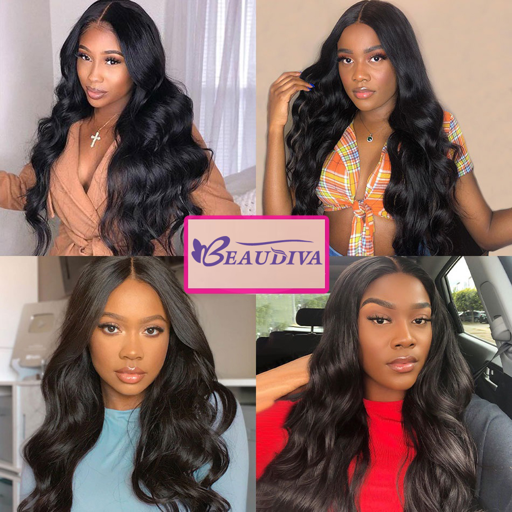 "Body Wave Hair Bundles Natural Black&Jet Black   Bundles 1/3/4 Piece 8-30""  Hair s 2"