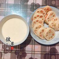 香酥藕饼#太太乐鲜鸡汁芝麻香油#的做法图解4