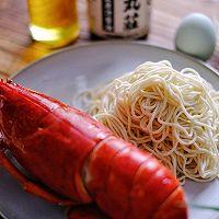 龙虾虾子葱油面的做法图解1