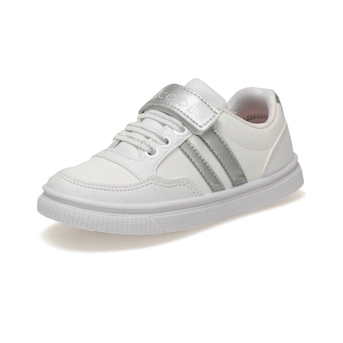 FLO TALU P White Female Child Sneaker Shoes I-Cool