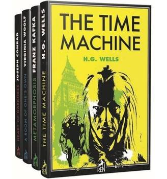 English Classic Set,METAMORPHOSIS,HEART OF DARKNESS,THE TIME MACHINE,A ROOM OF ONE'S OWN sally goldenbaum a thread of darkness