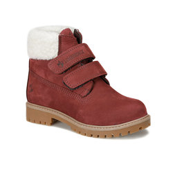 FLO RIVER FUR 9PR Burgundy Female Child Boots LUMBERJACK