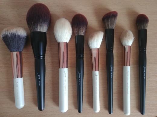 Jessup New Arrival Makeup brushes brushes Phantom Black 3-21pcs Foundation brush Powder Concealer Eyeshadow Synthetic hair reviews №5 177777