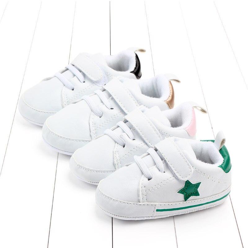 0-18 месяцев кроссовки стиль мягкая подошва детская обувь