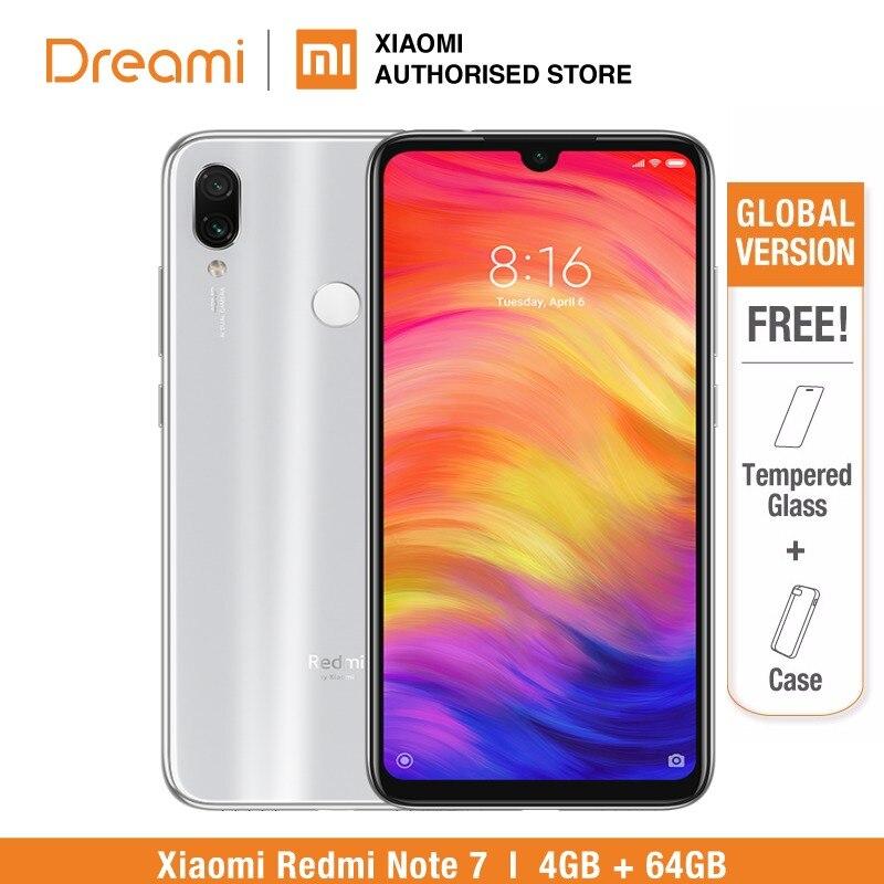 Globale Version Redmi Hinweis 7 64 GB ROM 4 GB RAM (Marke Neue und Versiegelt Box) note7 64 gb