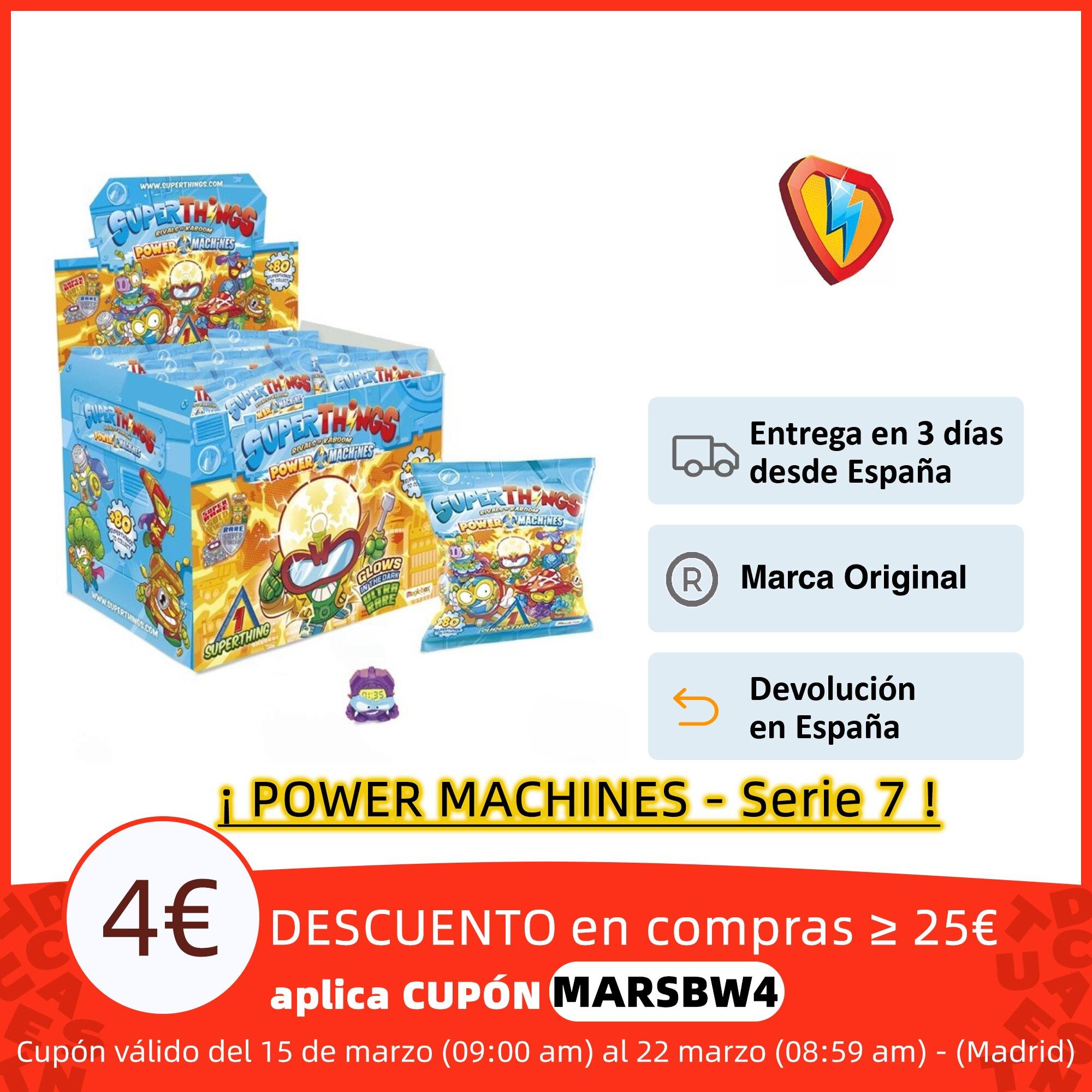SuperThings Power Machine Caja de 50 Sobres, Cada sobre Contiene 1 SuperThing y un 1 Checklist(SERIE 7 DE SUPERZINGS) Figuras de acción  - AliExpress