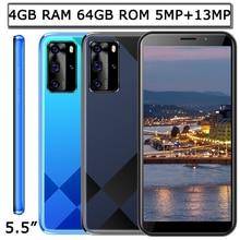 Переднее/заднее Камера 9X Pro Face ID глобальная версия 5MP + 13MP 4G Оперативная память 64G Встроенная память оригинальные мобильные телефоны Samsung смар...