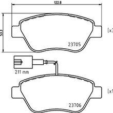 Колодки тормозные дисковые передн. MITO(955) NEMO Kasten(AA