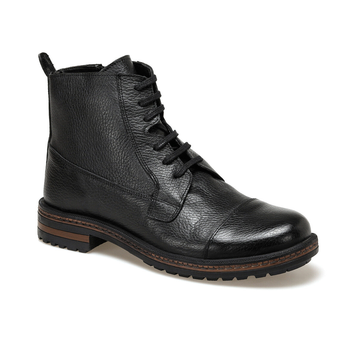 FLO 3406 Black Men Boots Garamond
