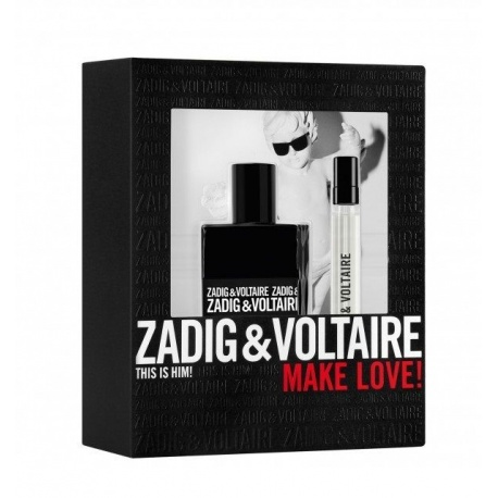 ZADIG VOLTAIRE THIS IS HIM! 50ML EDT + 10ML