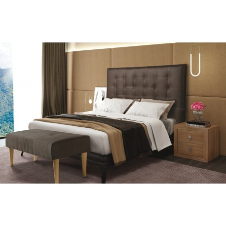Set Headboard And Bedside Tables Model Lucca