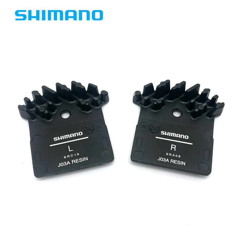 Shimano Resin Pad DEORE XT 1 pair XTR TRAIL J02A w//Cooling Fin /& Spring New