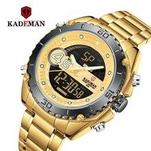 Men's Watches Kademan Top Luxury Brand Fashion Quartz Men Watch Waterproof  Business Wristwatch Relogio Masculino K9054