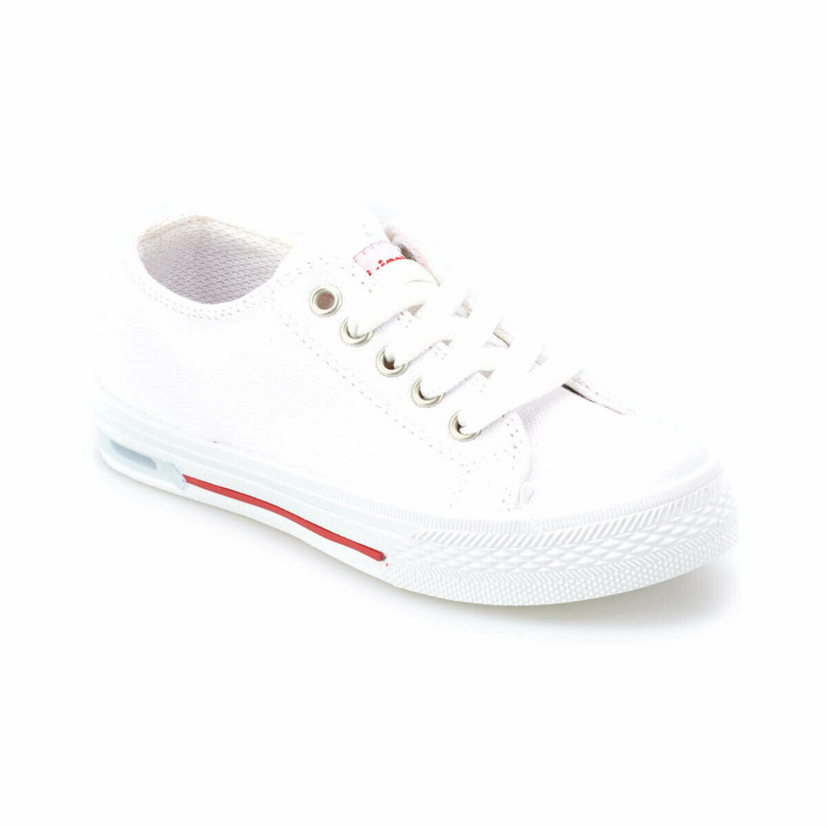 FLO DENNI White Female Child Sneaker Shoes KINETIX
