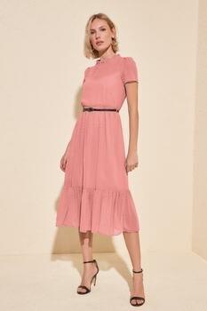 Trendyol Arched Dress TWOSS20EL0983