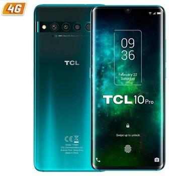 Перейти на Алиэкспресс и купить Tcl 10 pro туман зеленый мобильный Smartphone-6.47 '/16,4 см fhd + безрамочный экран-snapdragon 675 - 6 ГБ оперативной памяти-128 ГБ-cam (64 ГБ + 16 + 5 + 2 Мп)/24mp-