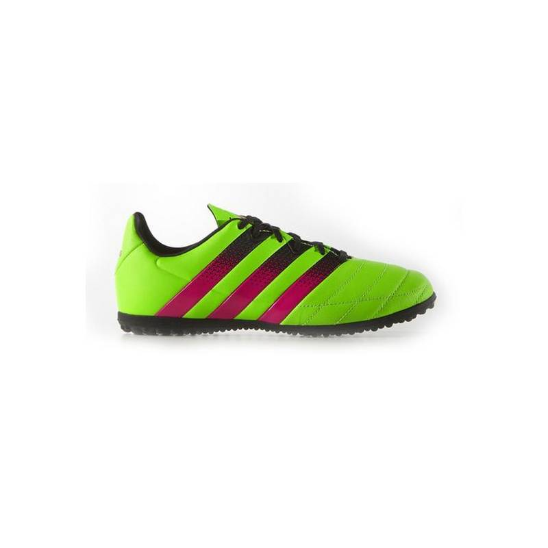 Football Boots Multitaco For Kids Adidas ACE 16.3 TF J Yellow Pink