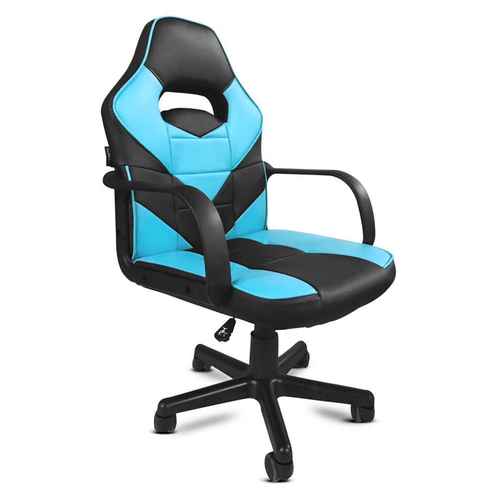 KEWAYES - Silla De Oficina GT PLAYER Color AZUL Deportiva Despacho Gaming