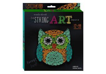 "A set of creative creativity string art ""owl"" Danko-toys stra-01-02"