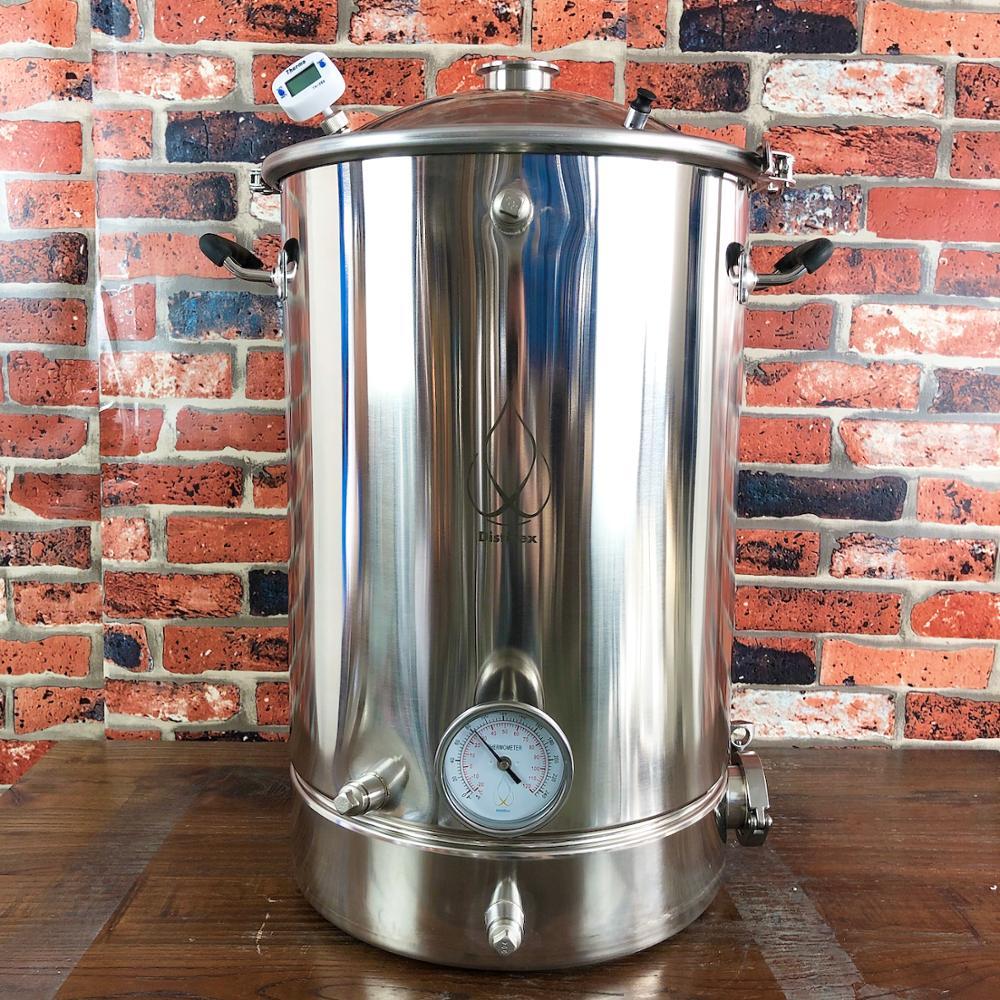55L mikro bira Pot, kazan, tankı, Fermenter çan kapak damıtma, düzeltme, sıhhi çelik 304