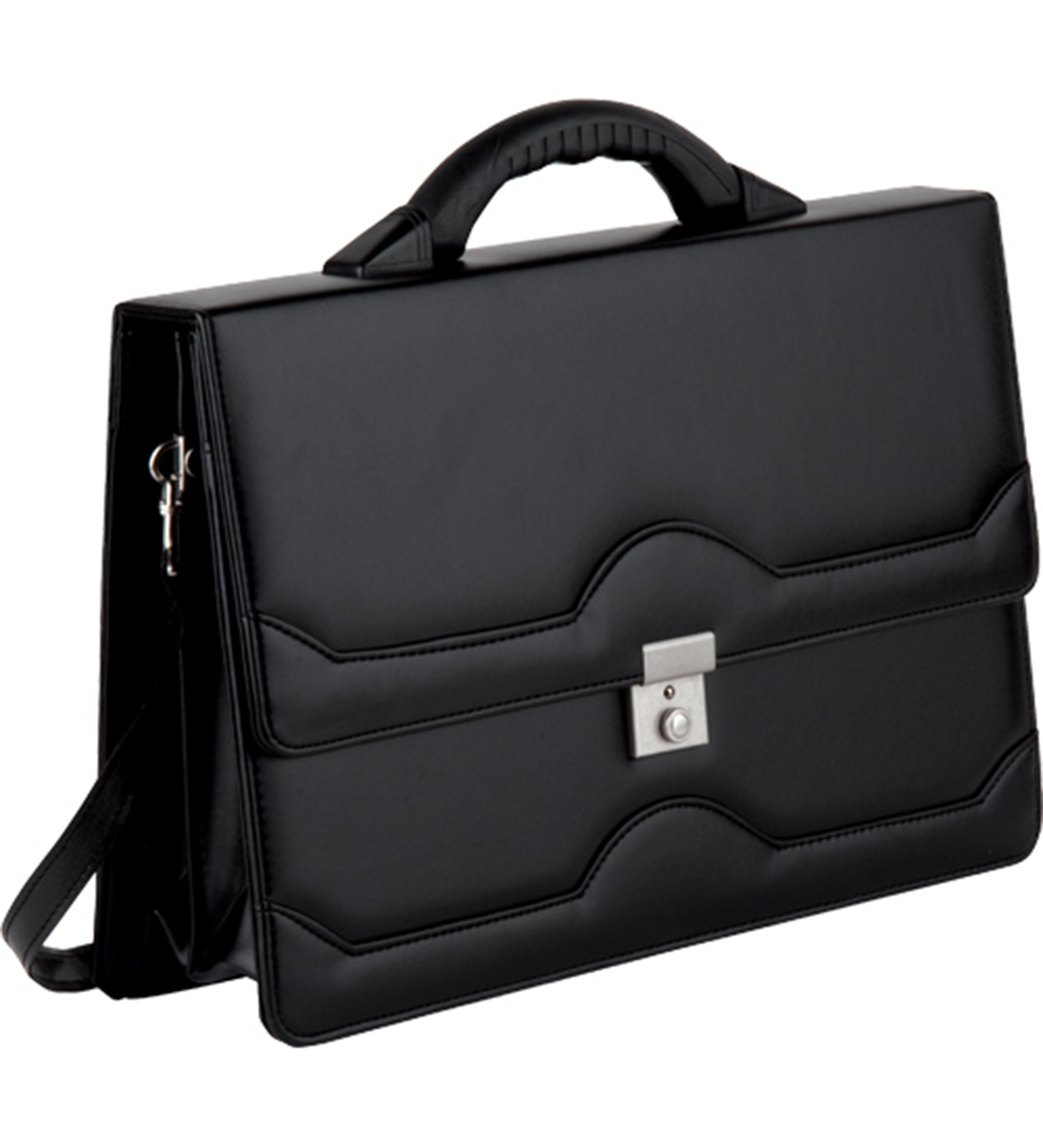 Briefcase Bag Leather Laptop Bag Shoulder Bags Top Sell Fashion Simple Dot Famous Brand Business Men And Women