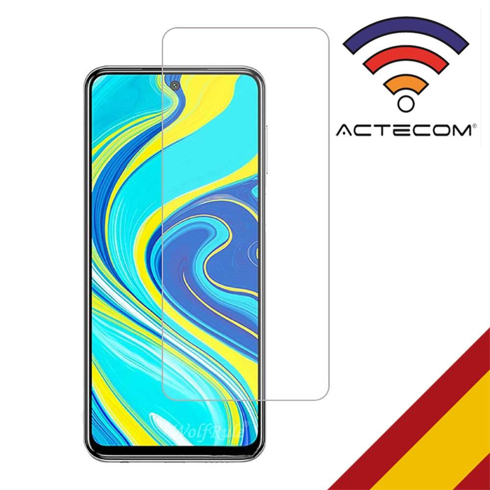 ACTECOM Protector De Pantalla Para Xiaomi Redmi NOTE 9s Cristal Templado  Xiaomi Redmi NOTE 9s 9H 2.5D Glass Premium 0,3mm