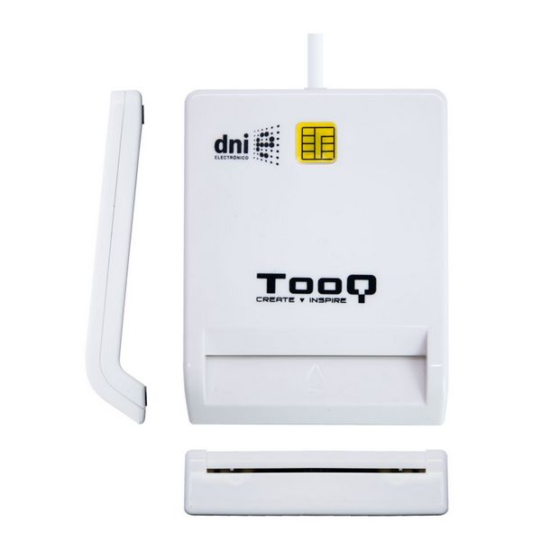 Smart Card Reader TooQ TQR-210W USB 2.0 White