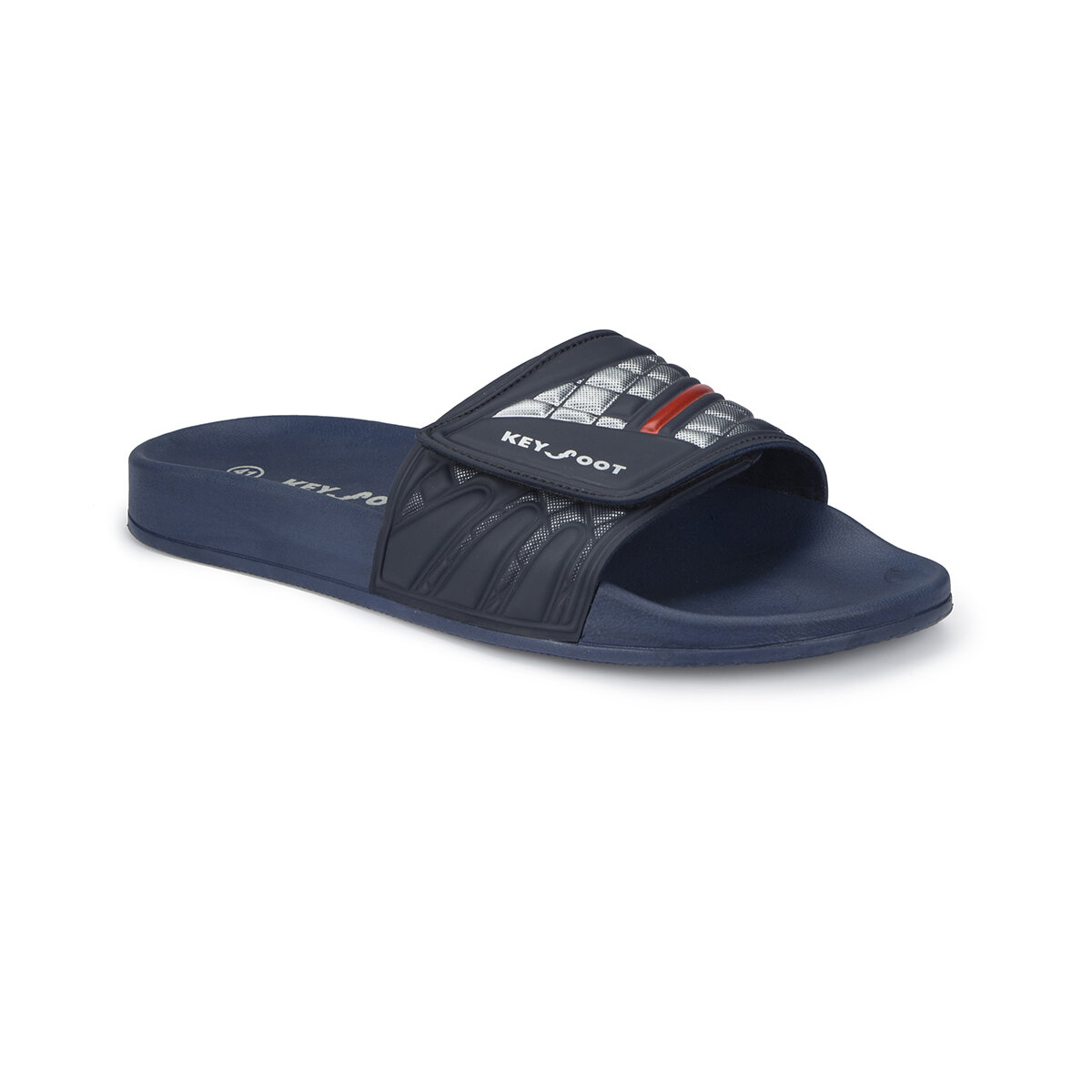FLO 81. 452199.M Navy Blue Male Slippers Polaris