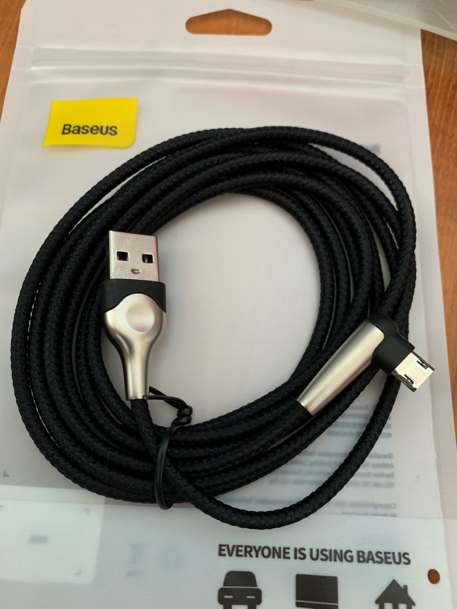 Baseus Lighting Micro USB Cable Reversible Fast Charging Microusb Cable For Samsung A7 2018 Xiaomi Redmi Note 5 Android Charger Mobile Phone Cables    - AliExpress