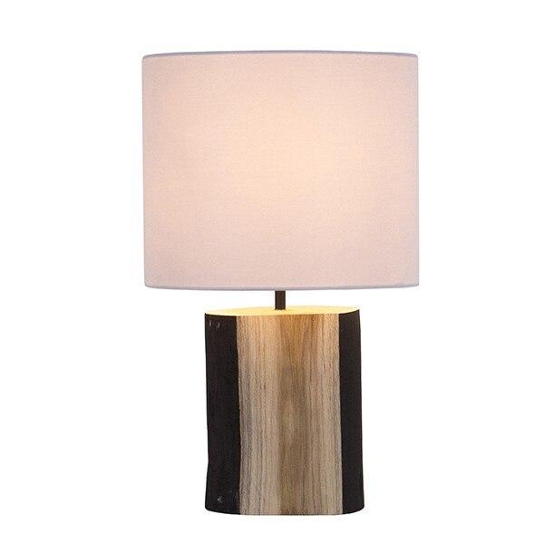 Desk Lamp Walnut (24 X 24 X 47 Cm)