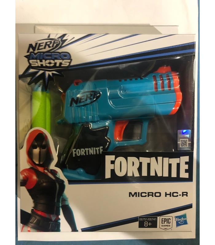 Nerf Gun Fortnite Micro HC-R Blaster Toy Store Articles Created Handbook