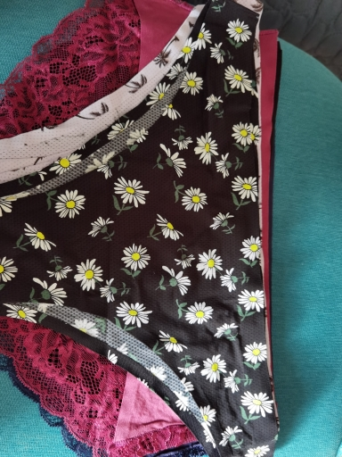 ALLMIX 2Pcs Sexy Women's G-String Briefs Panties Set Underwear Seamless Print Thongs Low Waist Woman Intimates Comfort Lingerie photo review