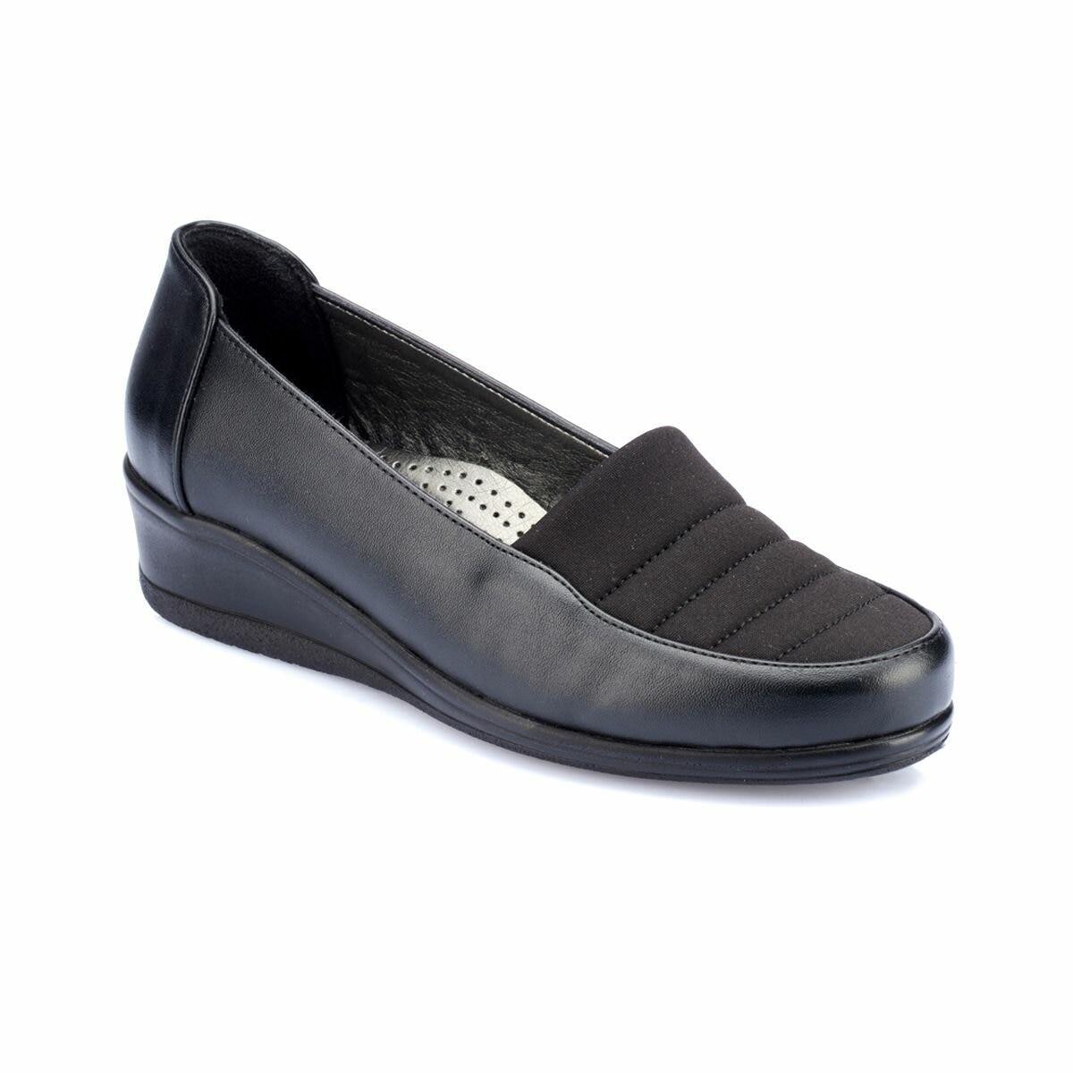 FLO 82.150015.Z Black Women Shoes Polaris