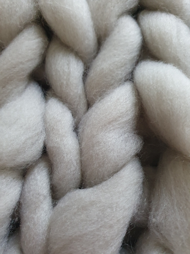 Handmade Chunky Knit Blanket Winter Soft Warm photo review