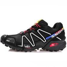 Speed 3-Zapatillas deportivas para correr para hombre, calzado para caminar Al Aire Libre, Original, color negro
