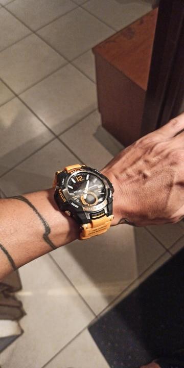 שעון צלילה 50M עמיד למים וספורט לגבר photo review
