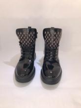 Damskie buty zimowe 2021 nowe oryginalne skórzane krótkie buty damskie wełniane ciepłe antypoślizgowe damskie botki studenckie buty damskie kobiet buty buty zimowe damskie buty botki damskie tanie tanio TR (pochodzenie) ANKLE Dla dorosłych Buty motocyklowe Zima Med (3 cm-5 cm)