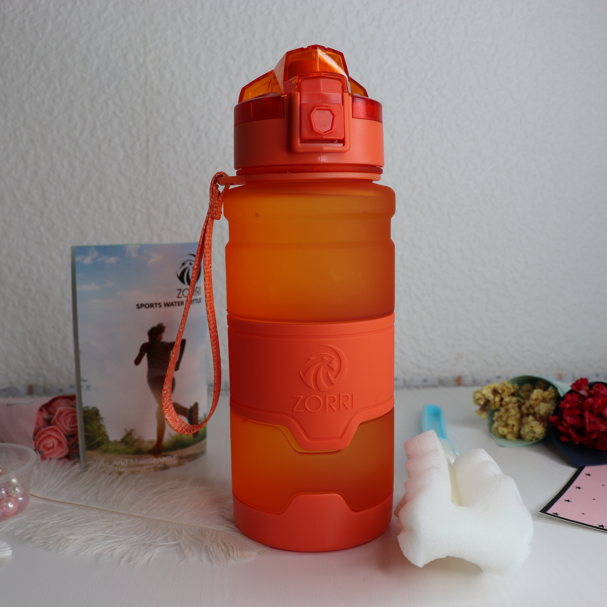 Best Sport Water Bottle TRITAN Copolyester Plastic Material Bottle Fitness School Yoga For Kids/Adults Water Bottles With Filter|Water Bottles| |  - AliExpress