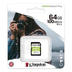 Sd Card 64 hard gb Class 10 Canvas PLUS Kingston UHS-1 U3-Original-tarjeta de memoria