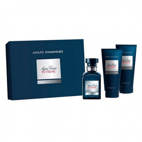 AGUA FRESCA EXTREME EDT 120ML + AFTER SHAVE 100ML + GEL 100ML
