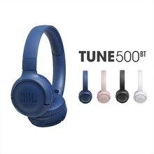 Original jbl t500bt fone de ouvido sem fio fone de ouvido forte baixo sem fio fones de ouvido bluetooth over-the-ear para o telefone móvel