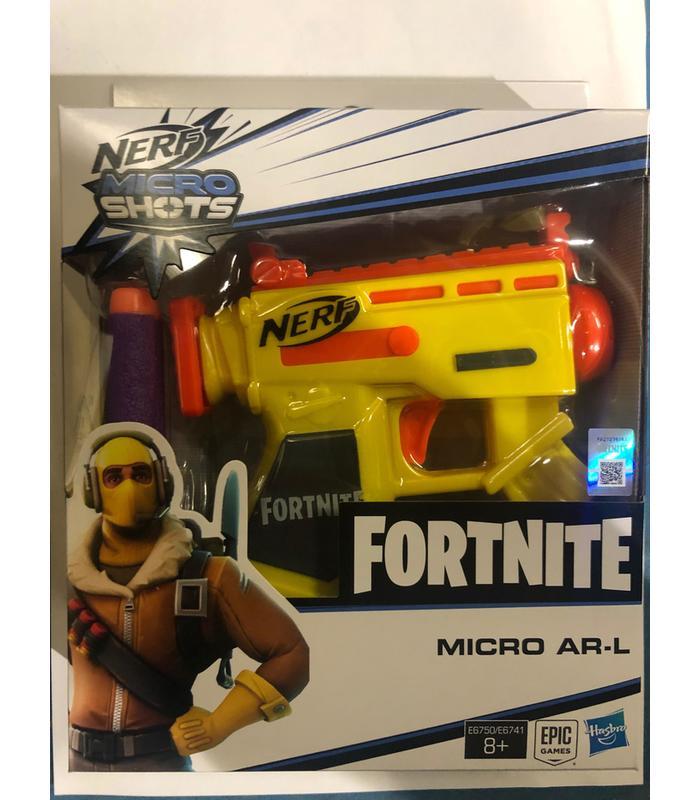 Nerf Gun Fortnite Micro AR-L Blaster Toy Store Articles Created Handbook