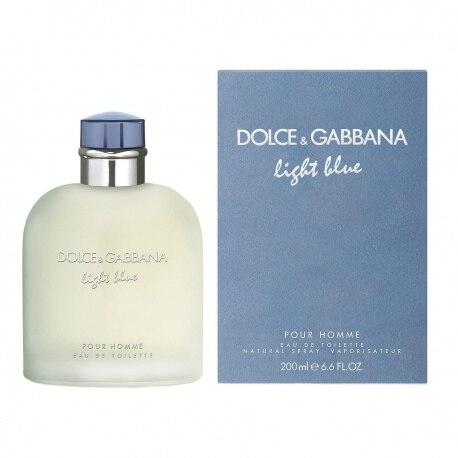 DOLCE GABBANA LIGHT BLUE POUR HOMME EDT 200ML SPRAY