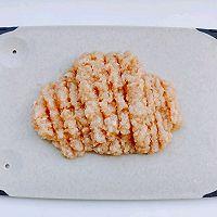 豆腐鸡肉丸的做法图解2