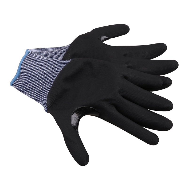 Anti Cut Gloves Level 5 2019 New GMG Blue Thin Soft HPPE Shell CE Certificated Gloves For Work Safety Mechanic Gloves Anti-cut