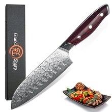 Santoku Knife Japanese Grandsharp Steel Cooking Factory-Direct-Damascus 67-Layers VG10