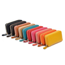 Key Wallets PU Leather Short Square ID Card Holder Zipper Multi-function Car Key Chain Wallet bag fashion 6 ring Man women black цена в Москве и Питере